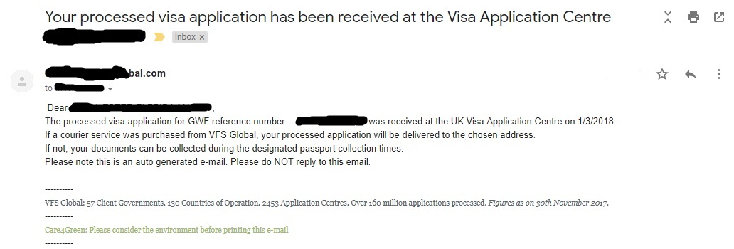 Getting UK visa in Singapore - Next time, perhaps!